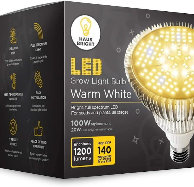 LED Grow Light Bulb - for Indoor Plants Full Spectrum Lamp