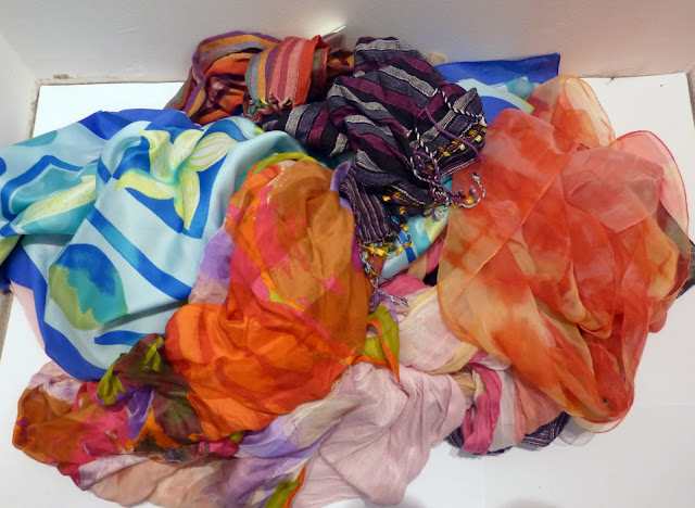 foulards garde robe capsule