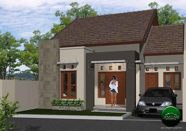 Rumah Siap Bangun jalan Cangkringan