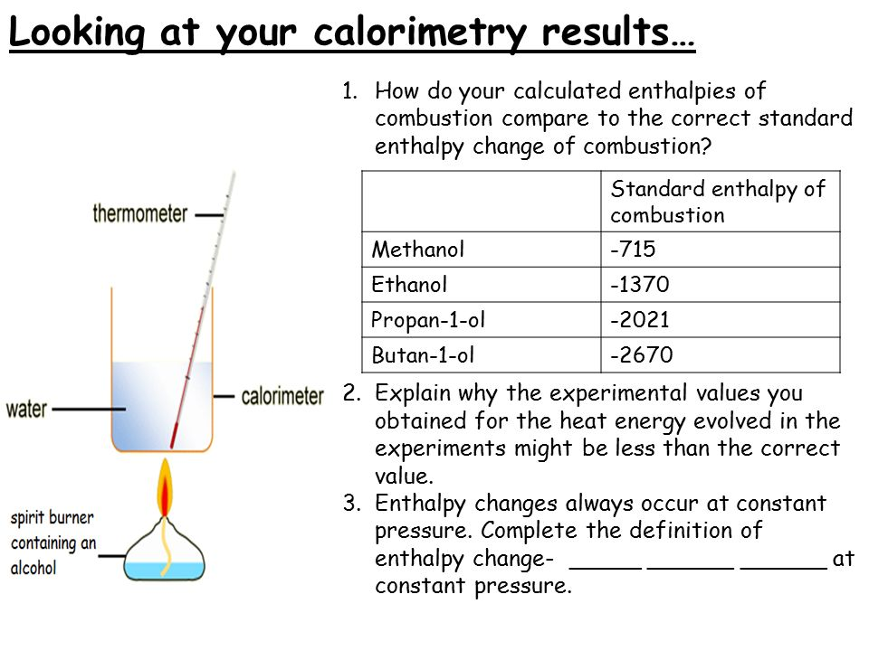 STPM CHEMISTRY CORNER: Topic 7 Chemical Energetics