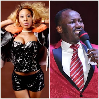 Live confession, Stephanie Otobo's LIVE confession: I was used by powerful politicians to bring Apostle Suleman down