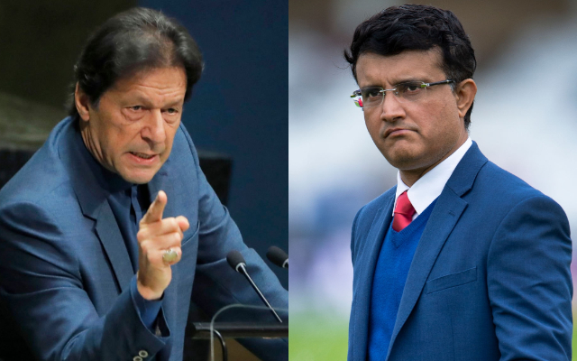 This is not the cricketer the world knew of: Sourav Ganguly on Imran Khan's Speech