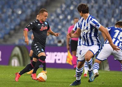 ملخص وهدف فوز نابولي علي ريال سوسيداد (1-0) الدوري الاوروبي