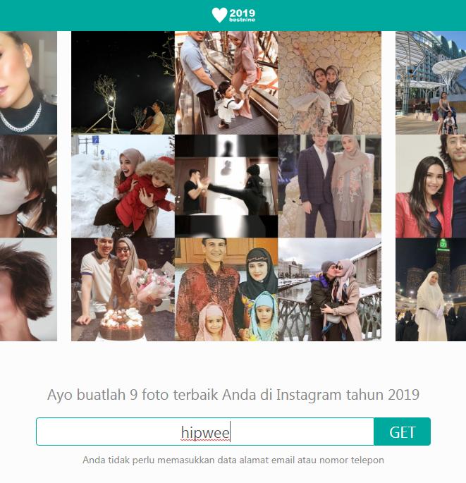 Cara Membuat 9 Foto Terbaik Instagram 2019 Atau 2019bestnine Warung Internet