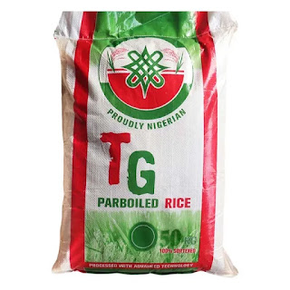 TG Parboiled Rice is a Nigerian home grown rice. It is produced in the north part of Nigeria