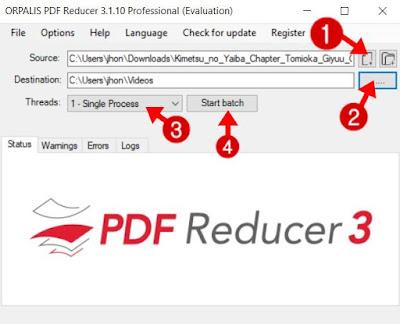 cara kompres pdf sesuai keinginan