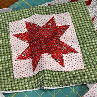 #QuiltBee: star quilt block
