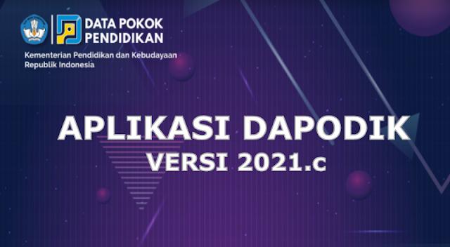 Pemutakhiran Aplikasi Dapodik Versi 2021.c