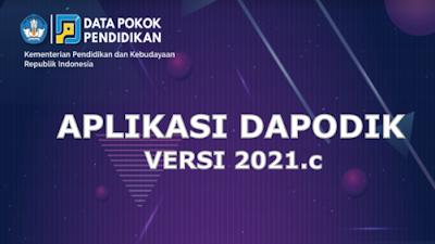 Pemutakhiran Aplikasi Dapodik Versi 2021.c untuk Pengumpulan Data Semester 2 Tahun 2020/2021