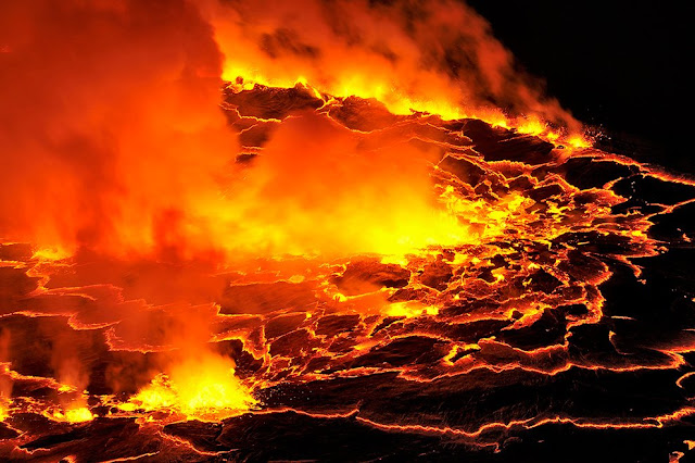 active volcanoes of the world of Democratic Republic of Congo