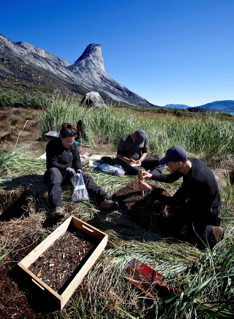 Climate change threatens Greenland's archaeological sites: study