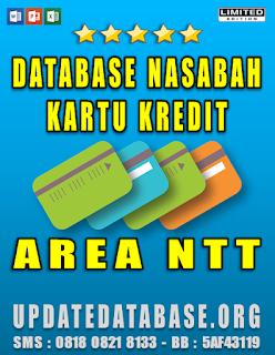 Jual Database Nasabah Kartu Kredit NTT