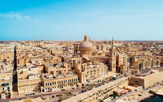 Valletta Malta city