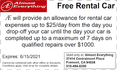 Coupon Free Rental Car May 2021