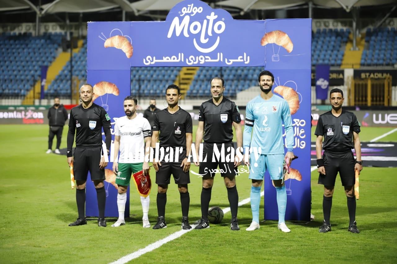 بعدسة الخبر المصري | شاهد صور مباراة الأهلي والمصري البورسعيدي