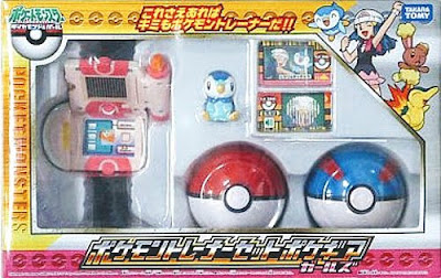 Piplup figure in Trainer set PokeGear Girls