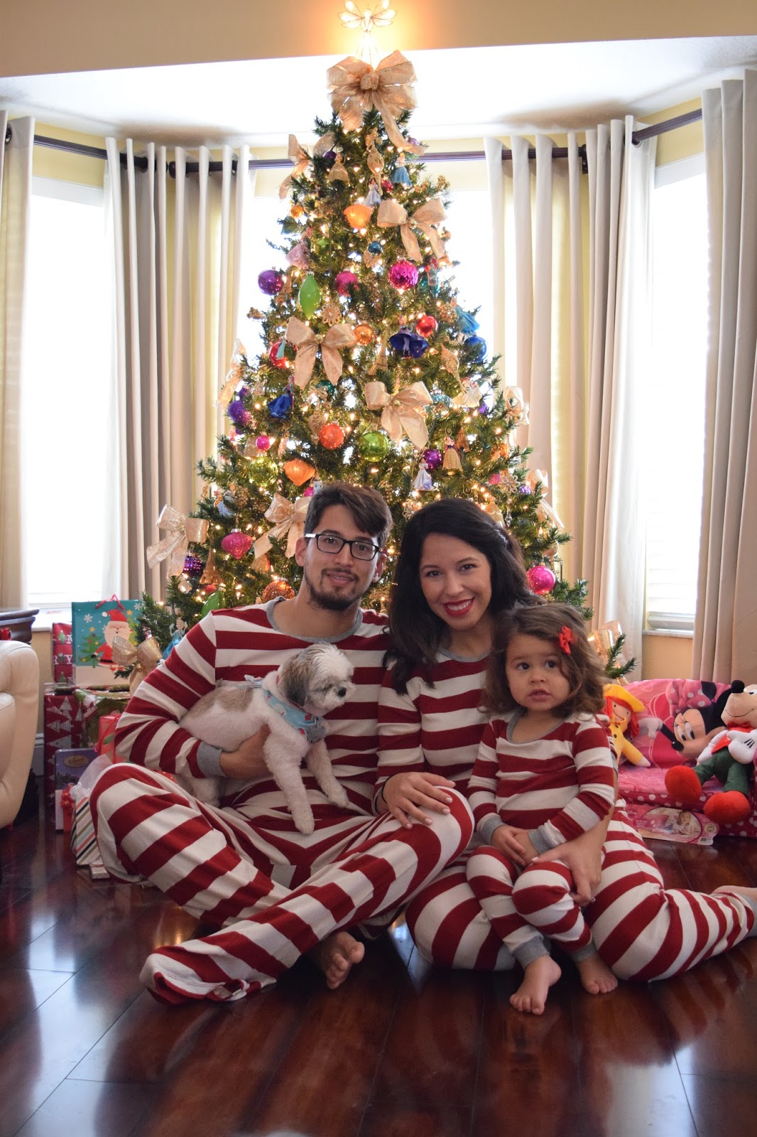 Christmas Matching Family Jammies Photo