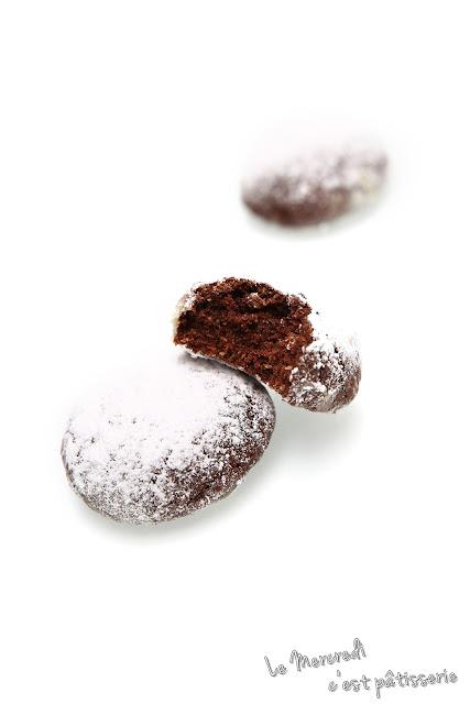 Boules moelleuses au chocolat