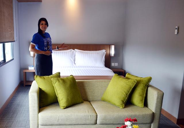 kamar luas dan nyaman