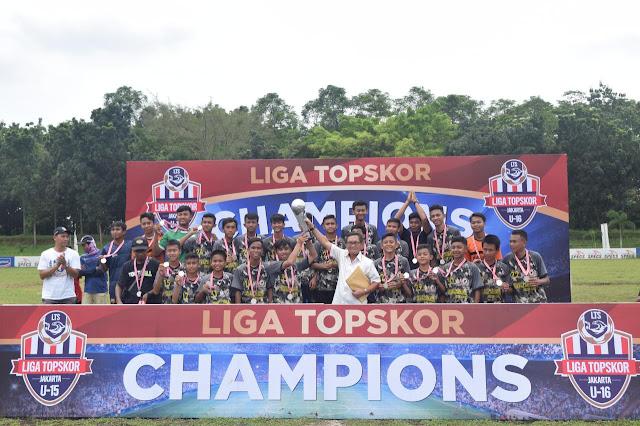 SSB Yonarhanud 1 Kostrad Raih Juara 2 Liga U-15 Topskor