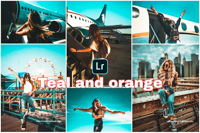 Teal And Orange Preset
