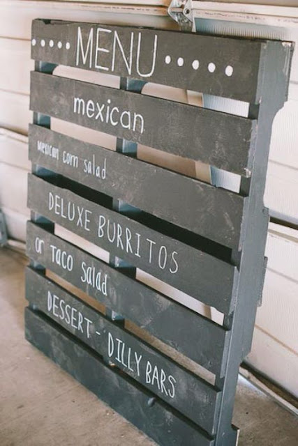 menu para bodas sencillas