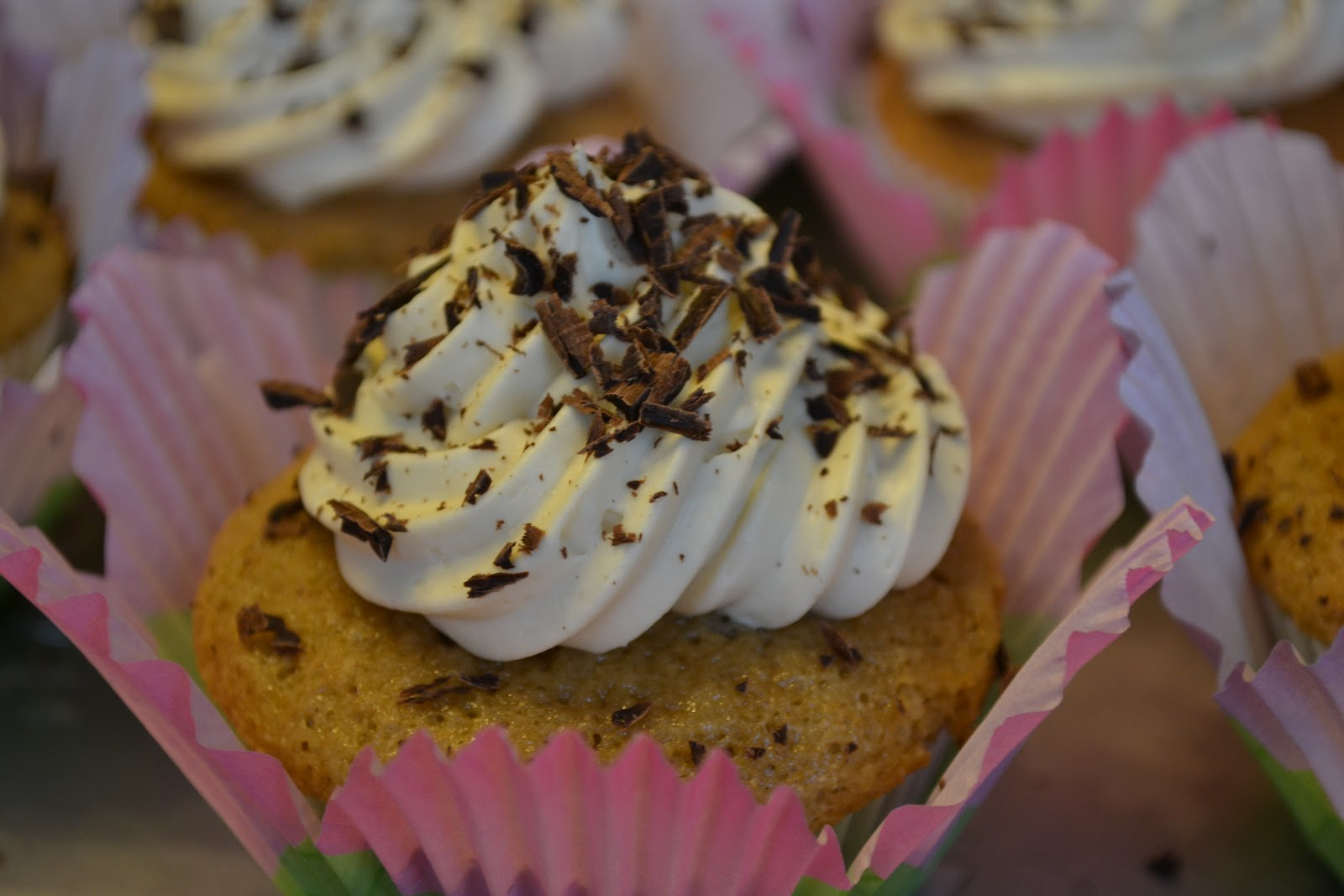 A Taste of Alaska: Tiramisu Cupcakes with Mascarpone CreamTiramisu Cupcakes With Mascarpone Cream