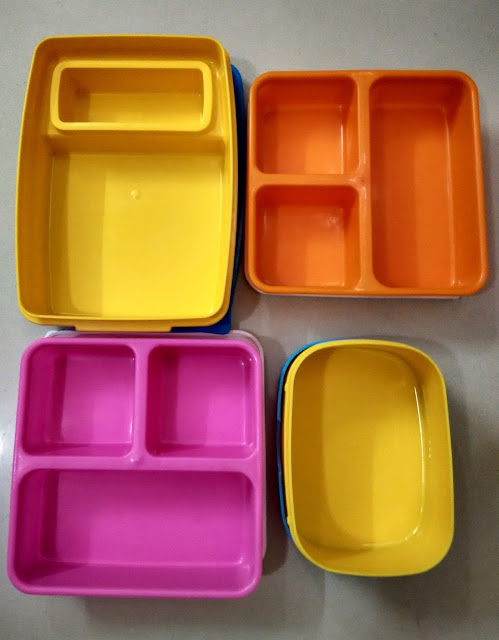 Empty Lunch Boxes
