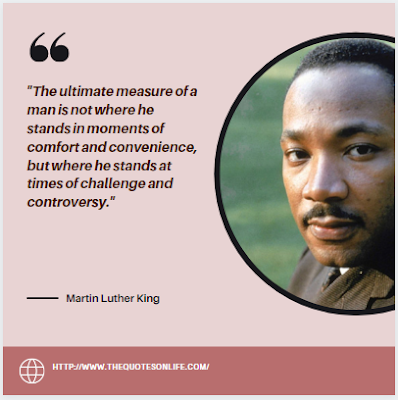 Powerful Martin Luther King Jr.