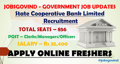 State Cooperative Bank Limited Recruitment 2021