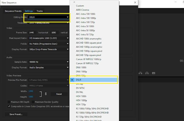 Cara Membuat Sequence yang Benar dan Tepat di Adobe Premiere Pro CC