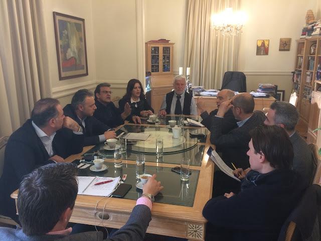 Θεσμική συνεργασία Περιφέρειας και Επιμελητηρίων για την ενίσχυση της επιχειρηματικότητας