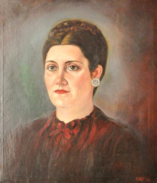 Retrato de mujer sin fecha