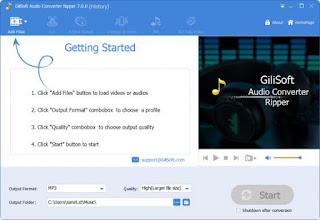 GiliSoft Audio Converter Ripper 7.0 Full Version