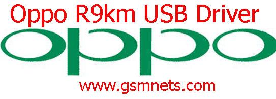 Oppo R9km USB Driver Download