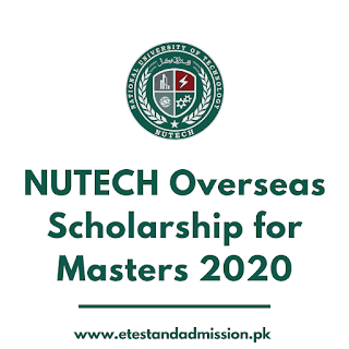 nutech overseas scholarship for masters 2020
