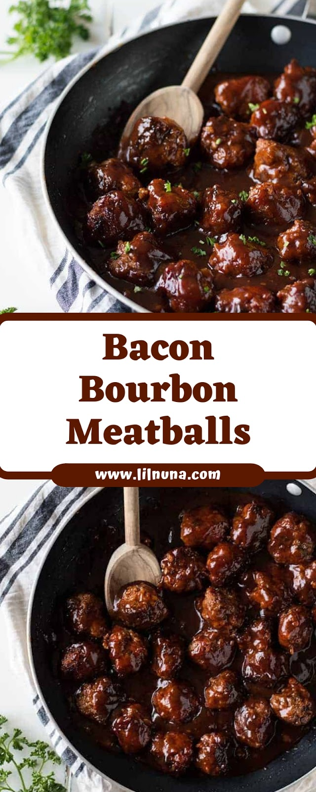 Bacon Bourbon Meatballs
