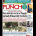 NIGERIA NEWSPAPERS: TODAY'S THE PUNCH NEWSPAPER HEADLINES [28 JANUARY, 2018].