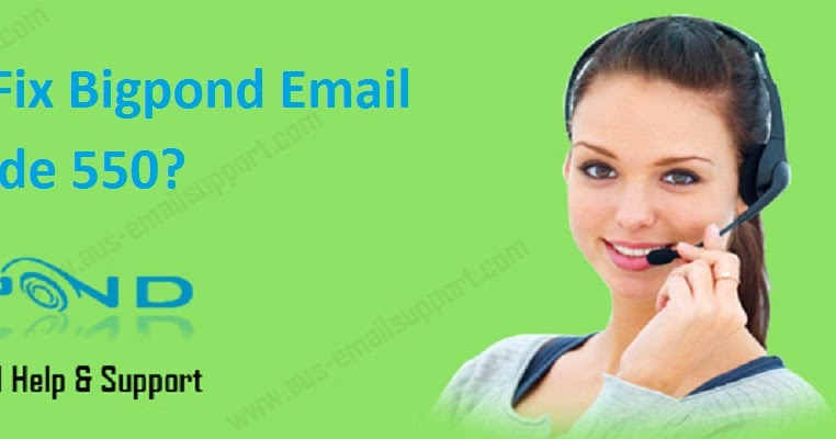 Resolve Bigpond Email Error Code 550 | Bigpond Support @1-800-021-482