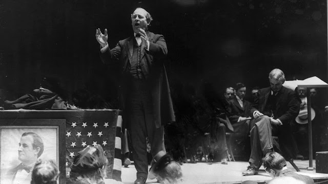 1896 William Jennings Bryan  Democratic National Convention in Chicago