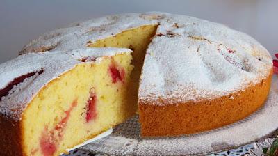 Najjednostavnija biskvitna torta od jagoda / Strawberry Biscuit Cake Easy Recipe