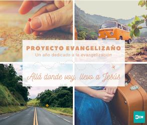 El Proyecto Evangelizaño continúa por el Año Santo