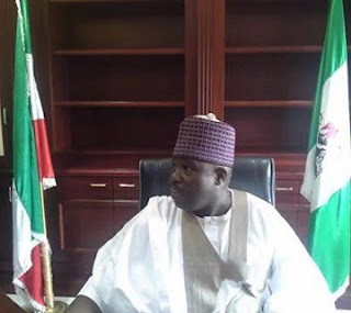 At Last, Sheriff Gains Access To PDP Secretariat, Issues Strong Warnings To Factioner leaders, See Photos