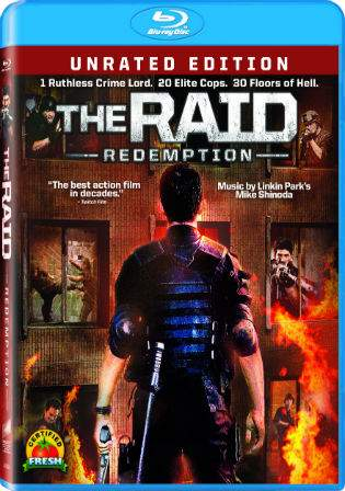 The Raid Redemption 2011 BRRip 950MB Hindi Dual Audio 720p Watch Online Full Movie Download bolly4u