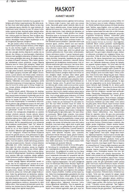 Öykü Gazetesi 32.Sayı Sayfa 8