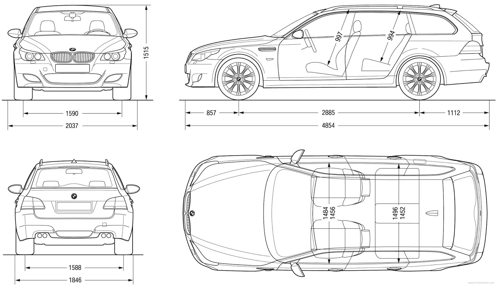 Bmw 5 Series E60 61 Factory Manual