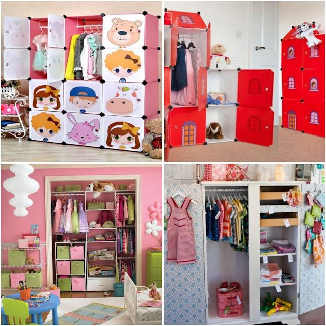Kids Wardrobes With Creative Design Ideas