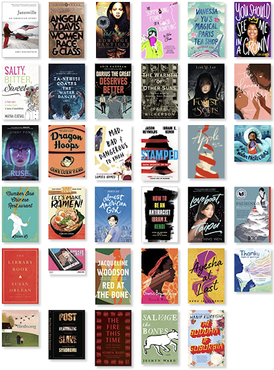 The cover images of the books I read that may be accessed on my goodreads shelf.