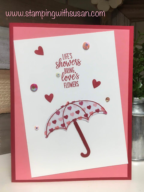 Stampin' Up!, Under My Umbrella, www.stampingwithsusan.com, 2020 Mini Catalog, Meant to Be