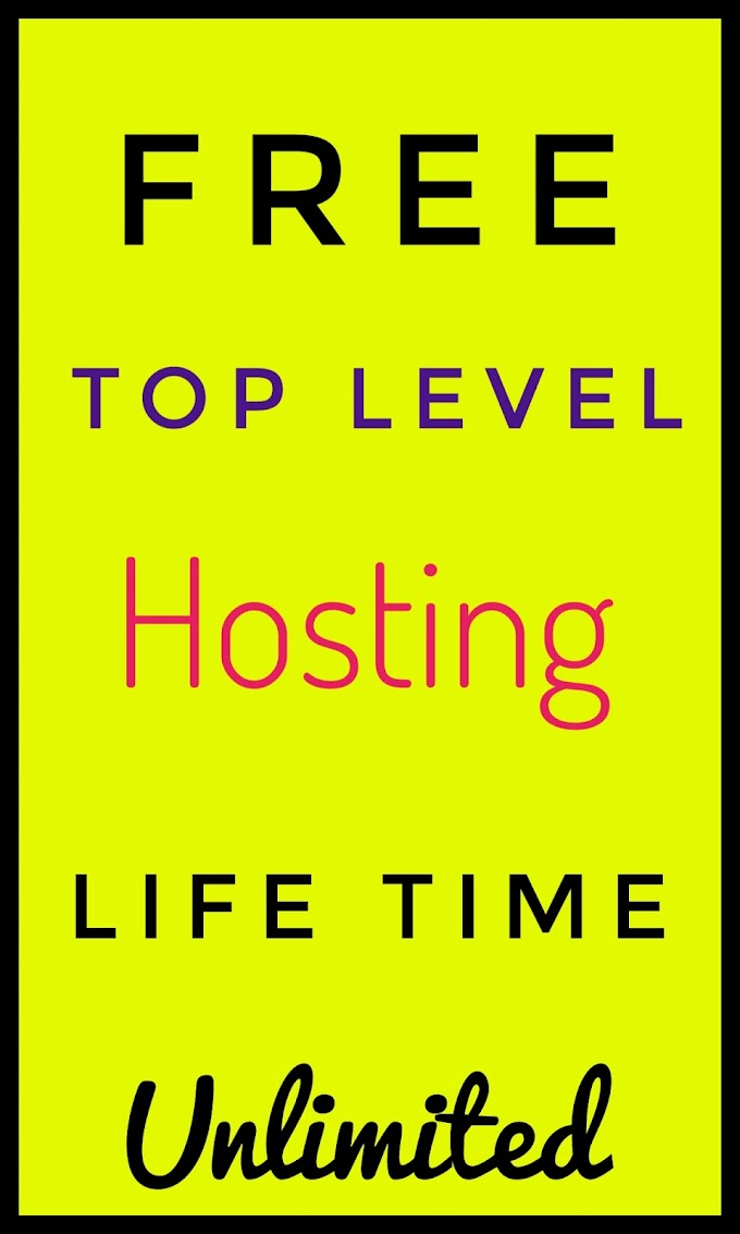 Free top level hosting for life time [ 2019 ]